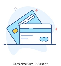 Vector Credit Cards Illustration