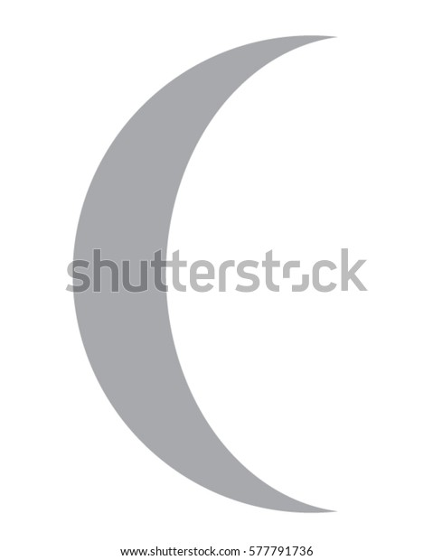 vector crescent moon graphic stock vector royalty free 577791736 https www shutterstock com image vector vector crescent moon graphic 577791736