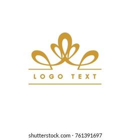 Vector Crown Logo design
