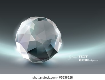 Vector Crystal background
