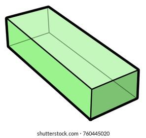 vector cuboid illustration