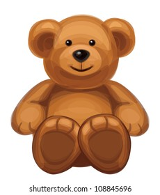 Vector of cute bear.