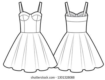 model black dress stock illustrations images vectors shutterstock Mourning Outfits vector cute dress