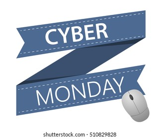 Vector Cyber Monday holiday