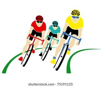 Vector cyclists