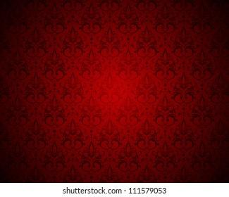 vector damask background