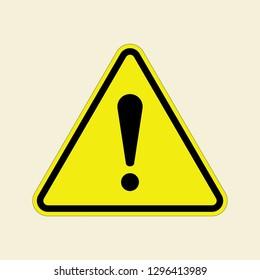 Vector Danger Warning Attention Sign