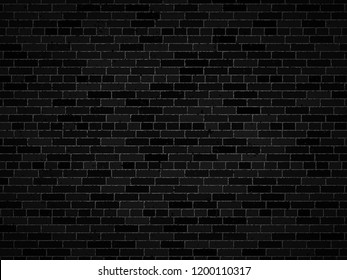 vector dark brick wall background