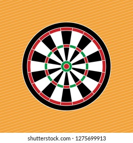 Vector Dartboard background