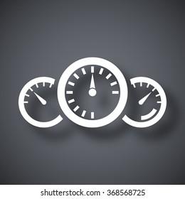 Vector dashboard icon