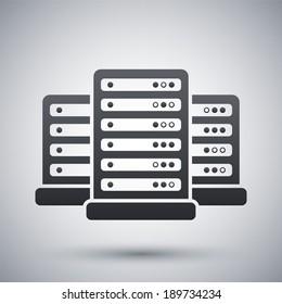 Vector data center icon