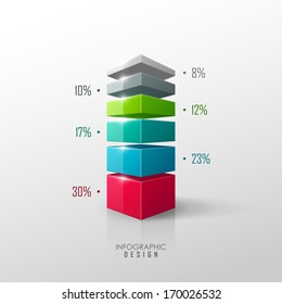 Vector data presentation template