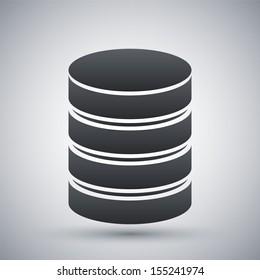Vector database icon
