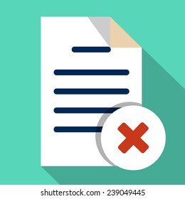Vector  Delete File Document