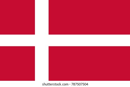 Vector Denmark flag, Denmark flag illustration, Denmark flag picture, Denmark flag image