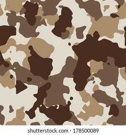 Vector desert seamless camo. 200+ camo textures in my portfolio.