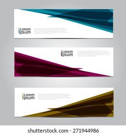 Vector design Banner background, EPS10  illustration.