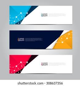 Vector design Banner background. illustration EPS10