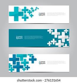 Vector design Banner medical background, illustration EPS10