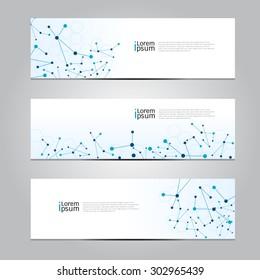 Vector design Banner technology background. illustration EPS10