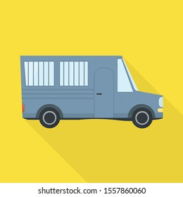Vector design of bus and truck logo. Web element of bus and automobile stock vector illustration.