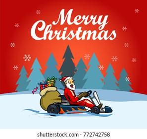 Vector design for  Christmas greetings