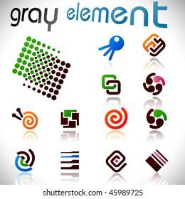 Vector design elements.