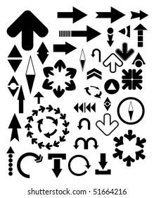 vector design elements - arrows