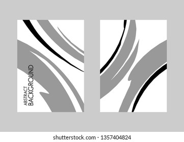 Vector design elements. Artistic background for text