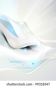 Vector Design - eps10 Smooth and Colorful Concept Background