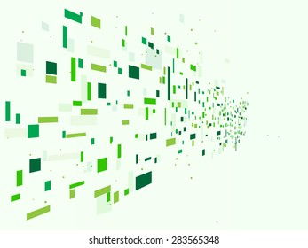 Vector design Green technology background.