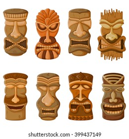 tiki mask images stock photos vectors shutterstock