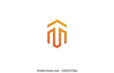 vector of design logo TM