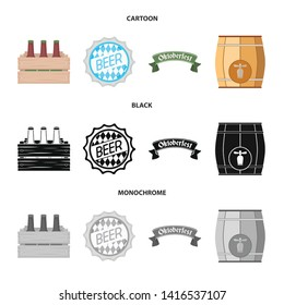 Vector design of minimal and pint logo. Set of minimal and craft vector icon for stock.