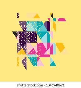 vector design minimalis colorful background