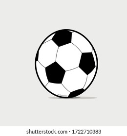 vector design in the shape of a ball