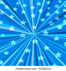 vector design stars and stripes background