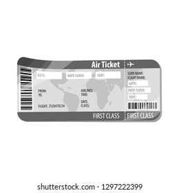 Vector design of ticket and admission icon. Collection of ticket and event stock vector illustration.