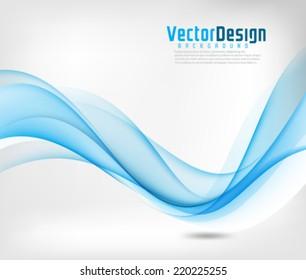 Vector Design Wave Background
