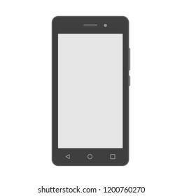 vector detailed smartphone