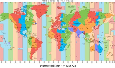 Time Zone Images, Stock Photos & Vectors | Shutterstock