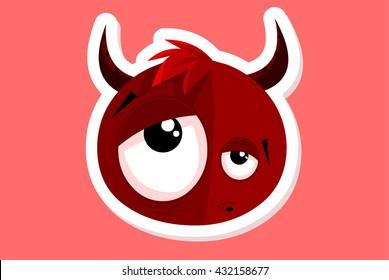 Vector Devil illustration