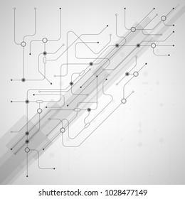 Vector digital technology background.