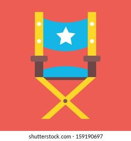 Vector Director Chair Icon
