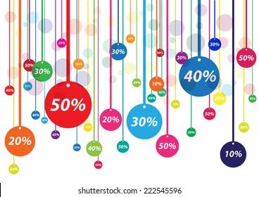 Vector discounts cover
