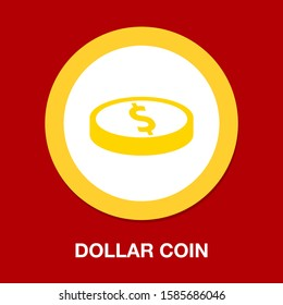vector dollar money illustration isolated, investment business finance icon