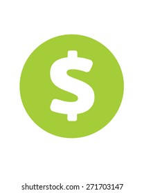 Vector Dollar Sign Icon