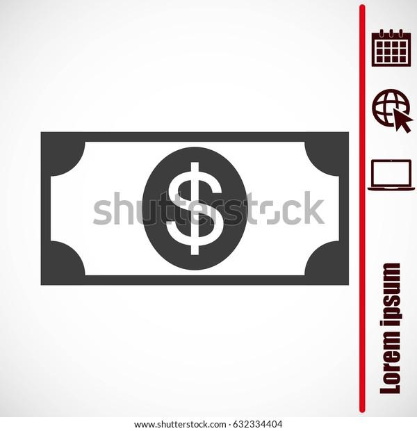 Vector Dollar Sign Icon