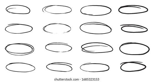 Vector doodle frame
