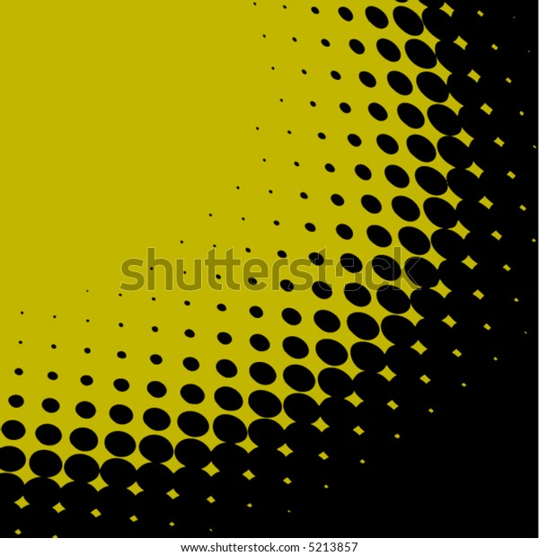 A vector dot background in green and black